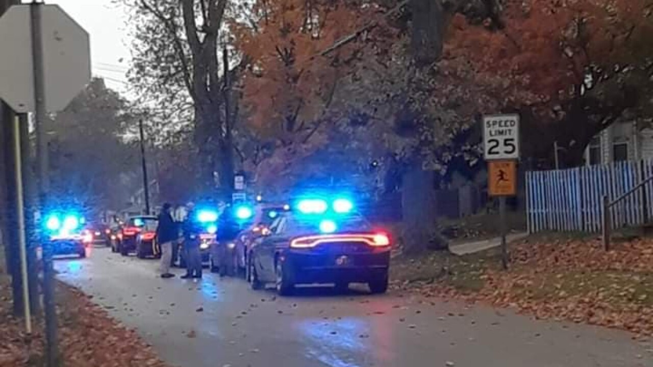 Picture of officer-involved shooting in Ashtabula Township.