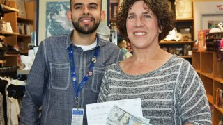 Photos: Man finds $46K hidden in Goodwill donation