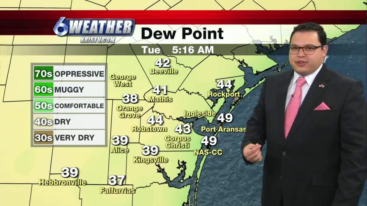Juan Acuña weather for Dec. 15, 2020