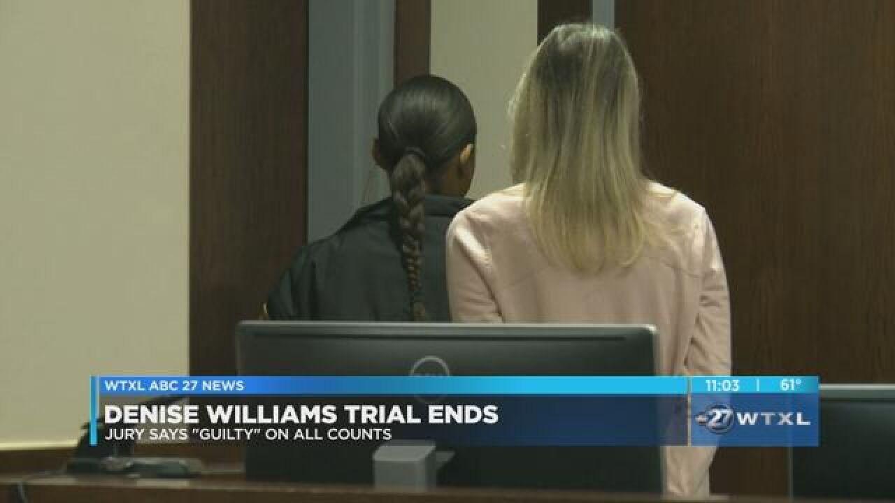 Sentencing date set for Denise Williams