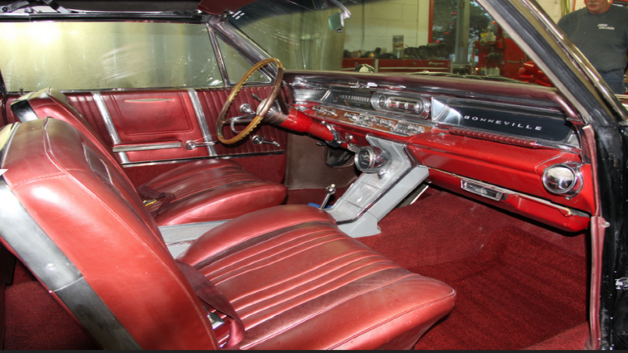 Story of the 1963 Pontiac Convertible
