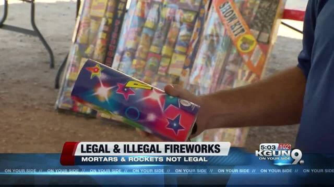 Firework safety: what's legal, and what's not
