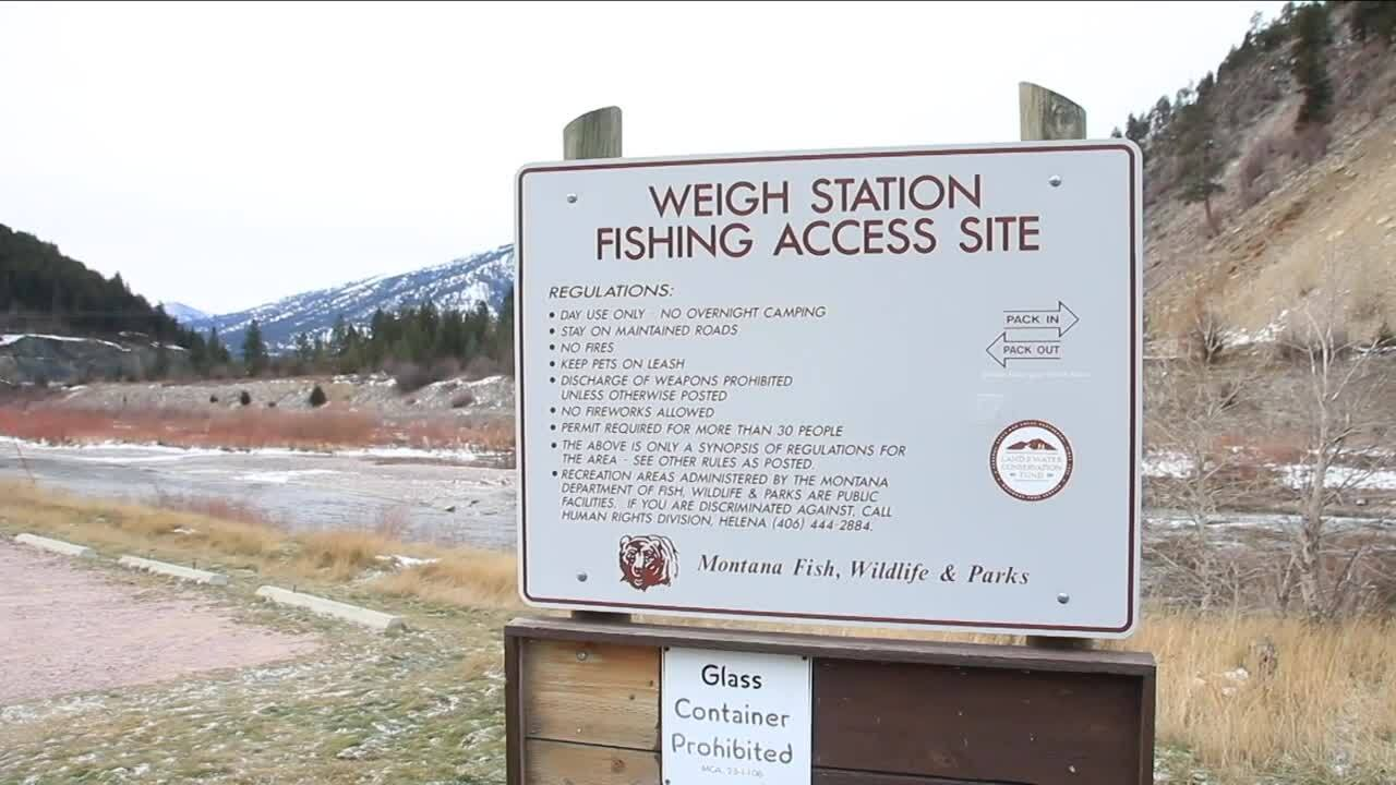 Weigh Station Fishing Access Site