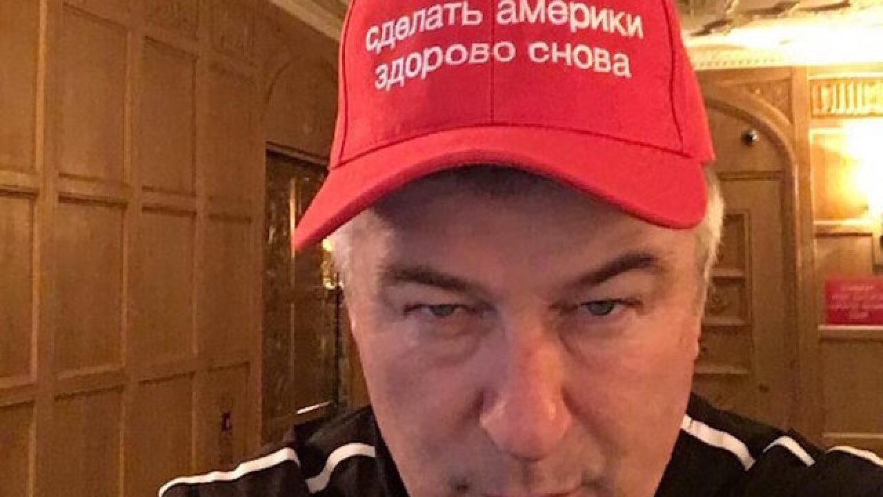 Alec Baldwin needles Trump again, this time in Russian