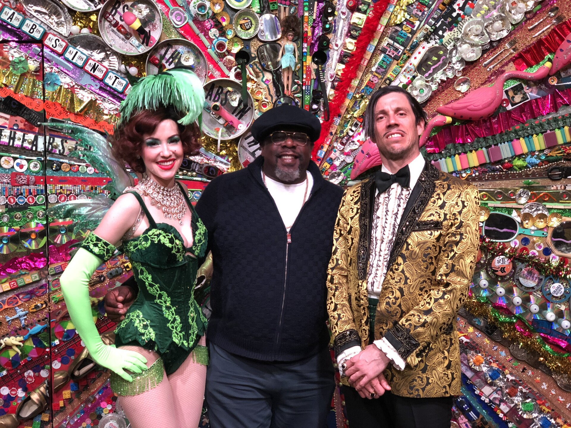 Cedric the Entertainer was spotted attending the hit show ABSINTHE at Caesars Palace in Las Vegas on March 8.