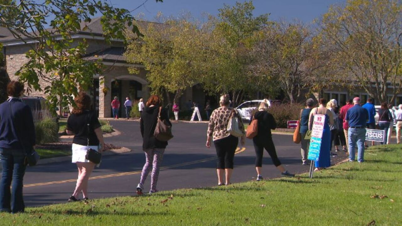 Early voting lines