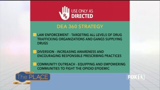 The DEA 360 Strategy takes an innovate approach to combat opioid misuse