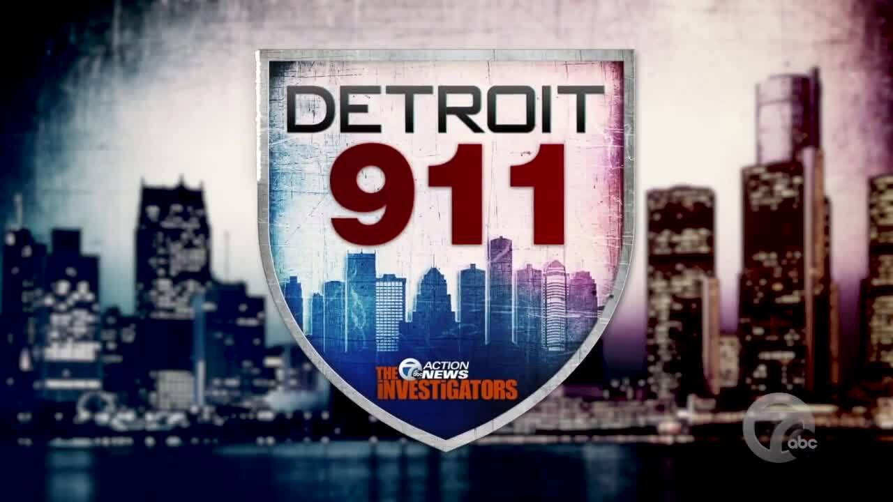 Detroit 911 graphic