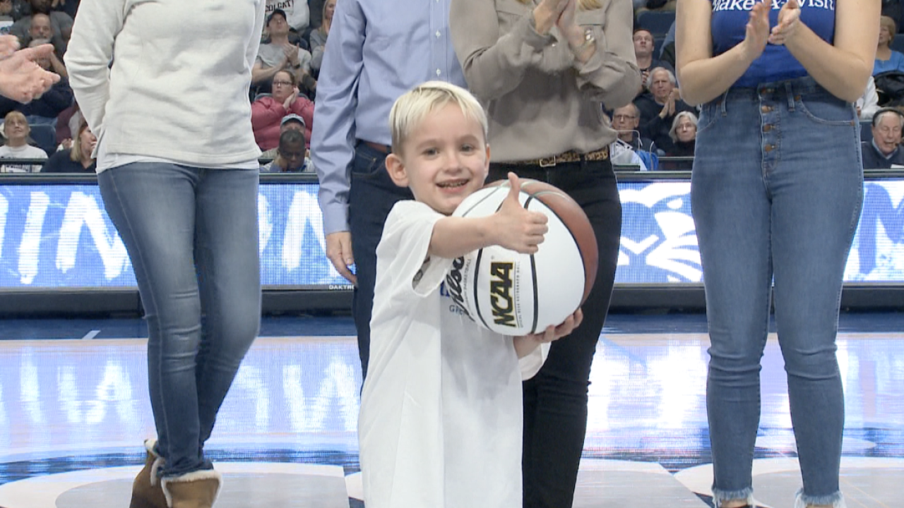 Old Dominion University men's hoops game is setting for Make-A-Wish send-off