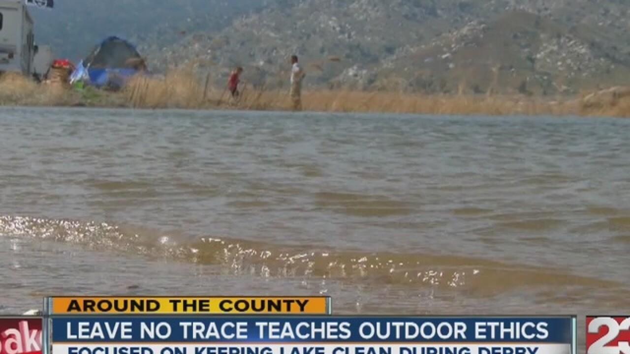 Organizations aim to keep Isabella Lake clean