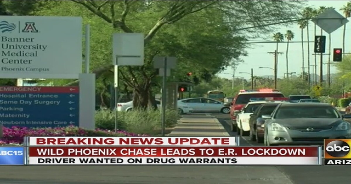 2 Suspects Arrested At PHX Hospital After Chase