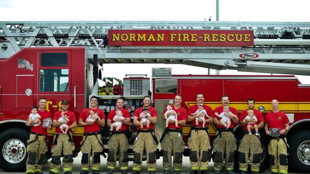 Norman Fire Department sees baby boom