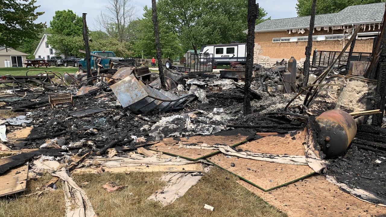 Ashtabula County explosion