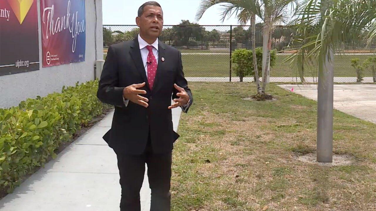 Patrick Franklin, president of Palm Beach County Urban League