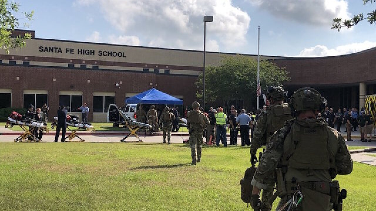 Shooter reported at Texas' Santa Fe High School