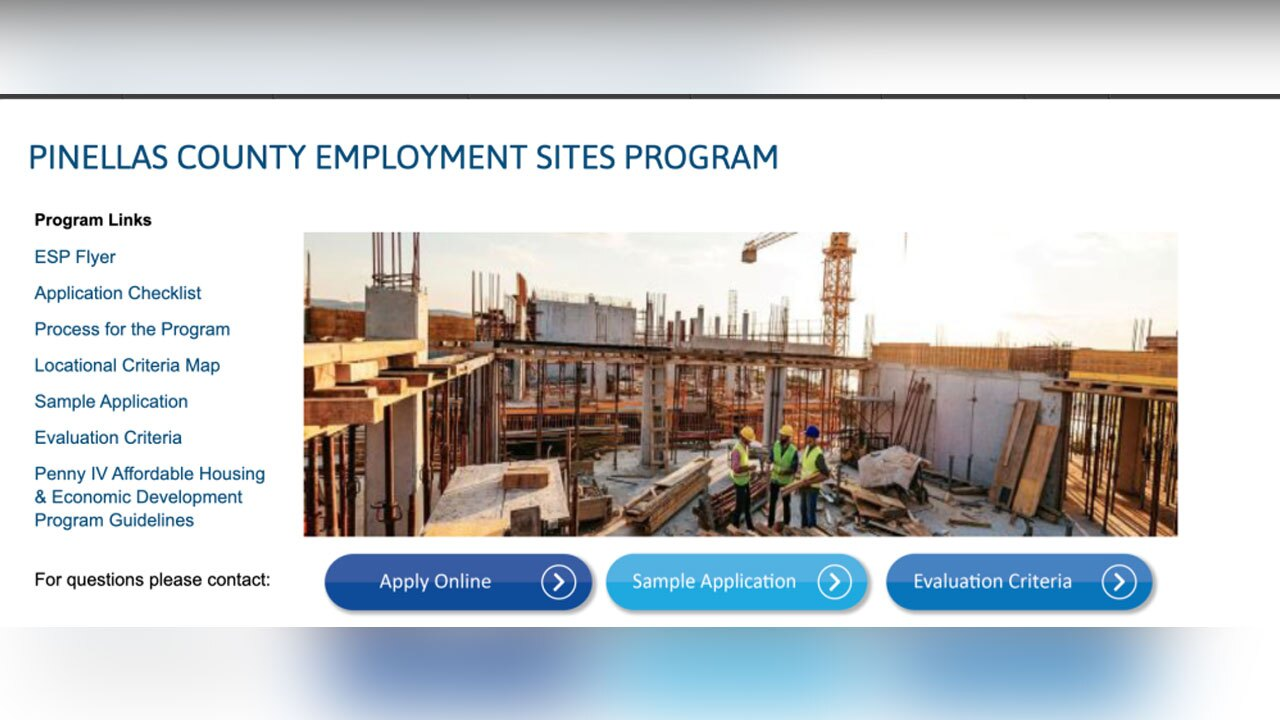 Pinellas Employment Sites Program