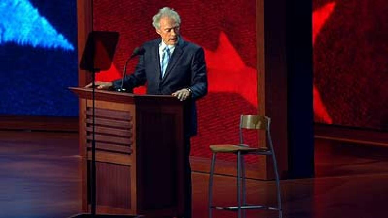 Eastwood, the empty chair and the speech everyone's talking about