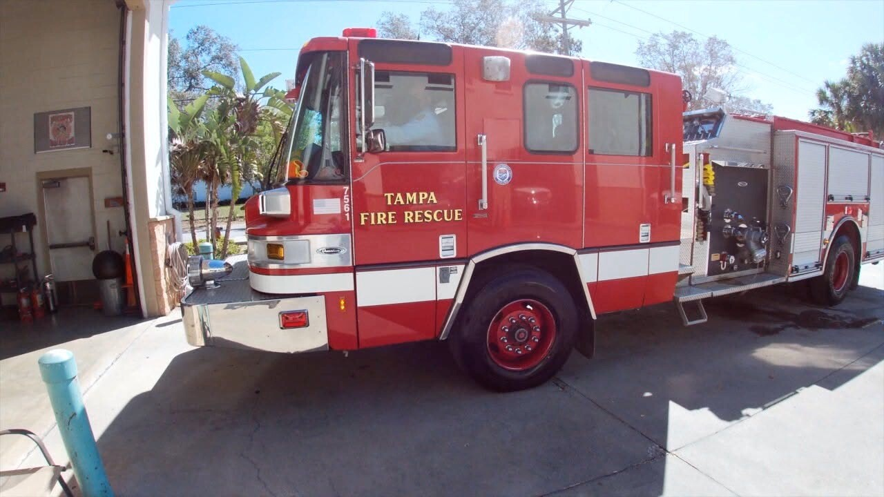 tampa fire department-tampa fire rescue-firetruck