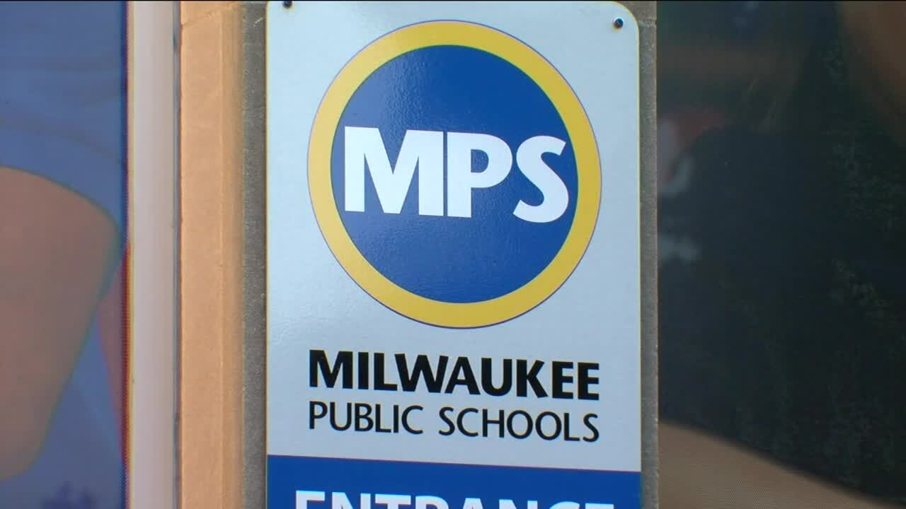 Milwaukee Public School district sign