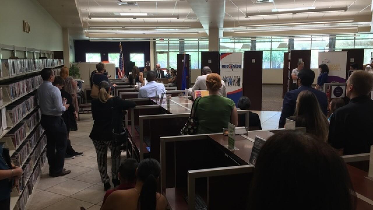 New career center opens in North Las Vegas