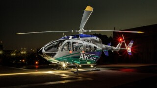 West Michigan Air Care helicopter