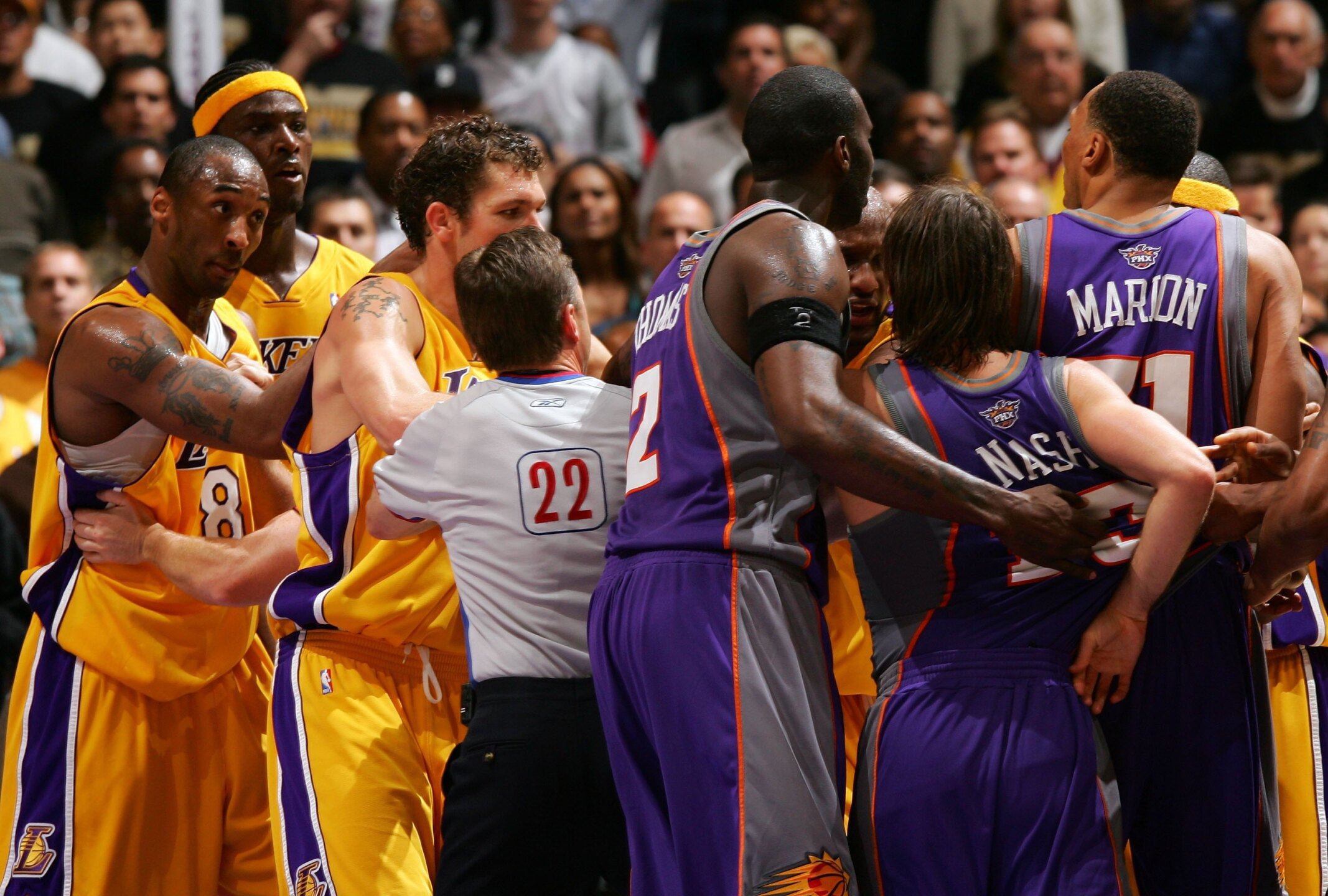Game 3: Phoenix Suns v Los Angeles Lakers