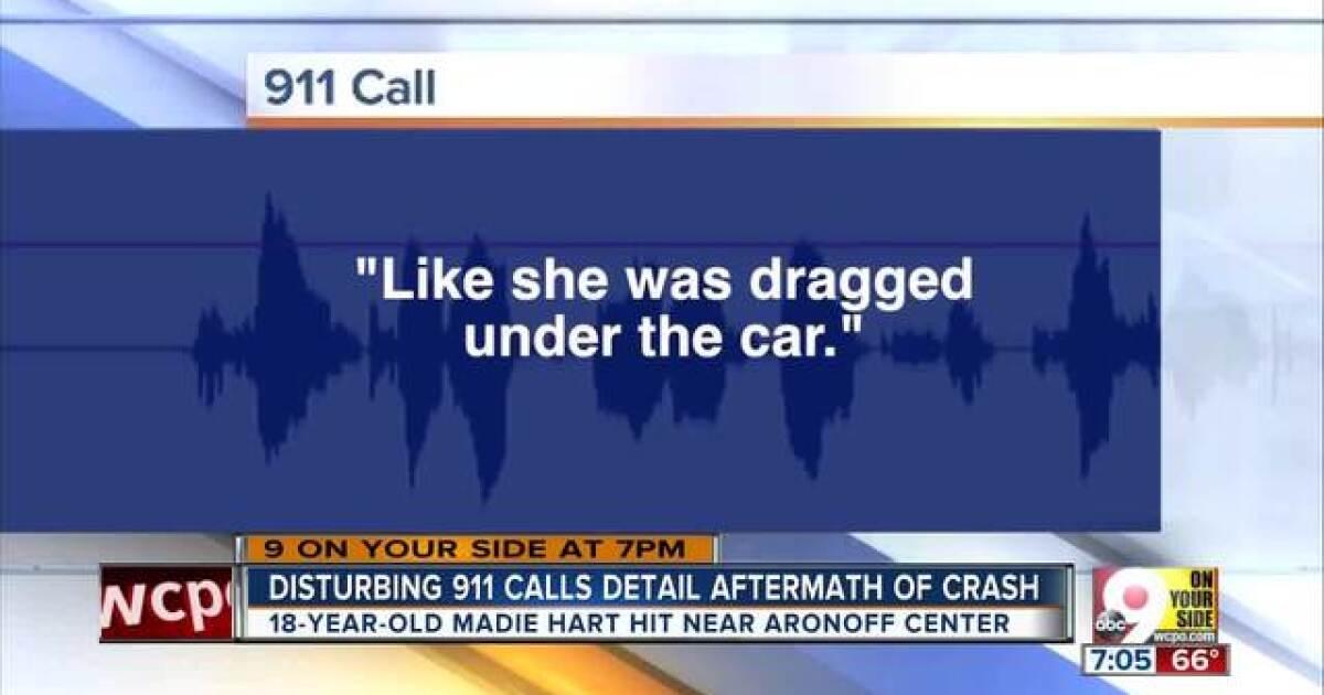 Disturbing 911 calls detail aftermath of crash that killed Madie Hart