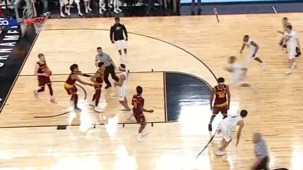 ASU guard Tra Holder ejected after skirmish late in Pac-12 Tournament game