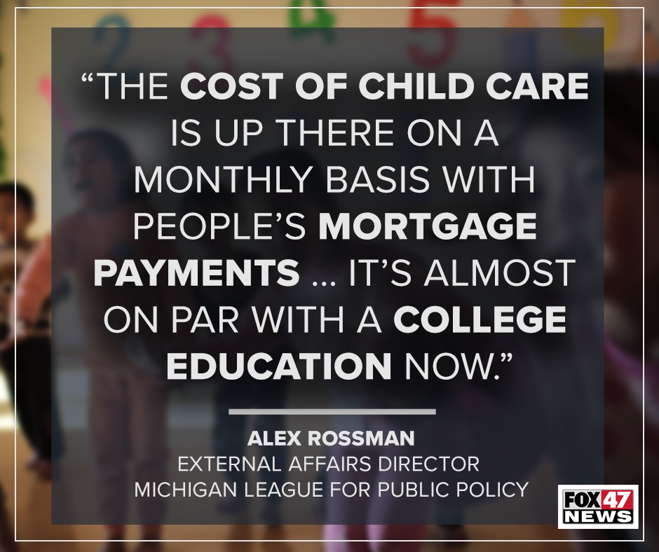 Alex Rossman, External Affairs Director with the Michigan League for Public Policy