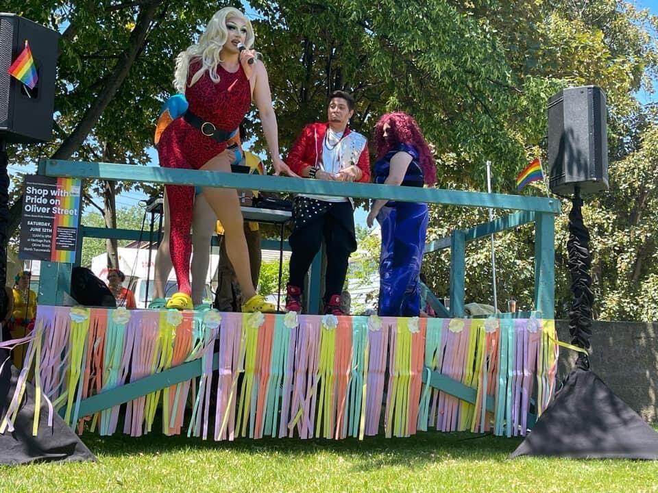 Daphne York hosted North Tonawanda's first Pride event