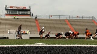 Refugio football practice.jpg