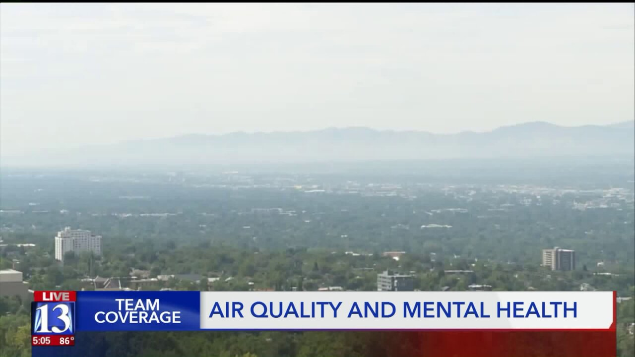 Poor air quality linked to bipolar disorder,depression