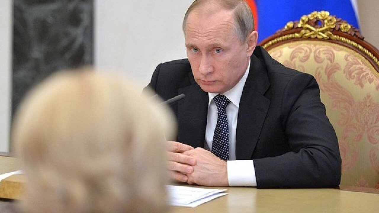 Putin says Russia won't expel US diplomats