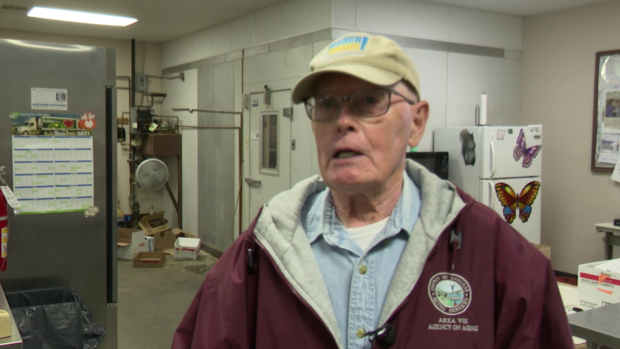 Harley Yeager has been helping deliver meals for 11 years