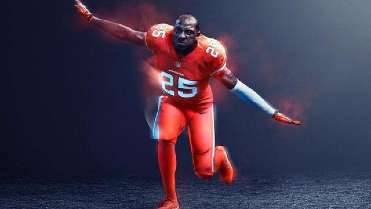 1af6a2e00 Broncos reveal Color Rush jerseys