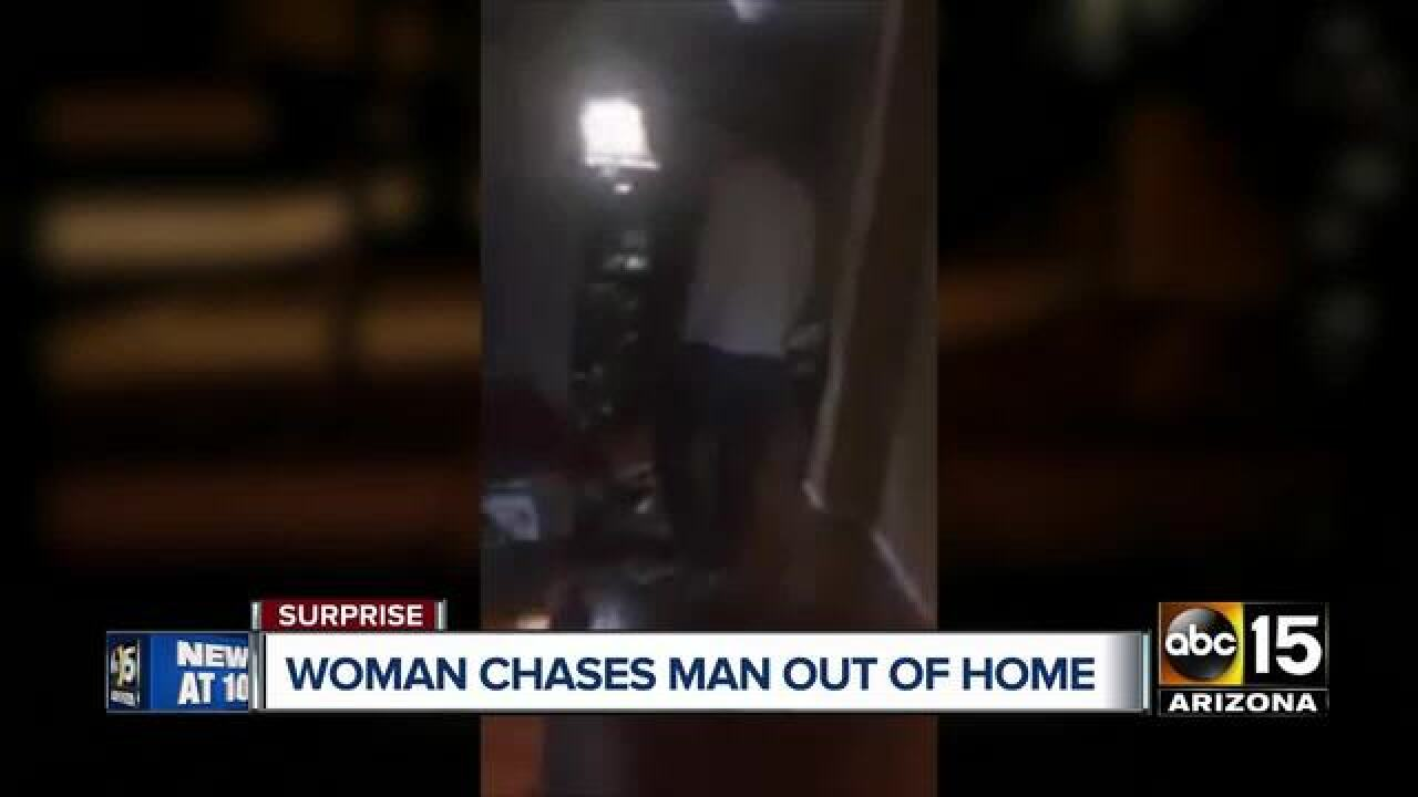 Police looking for man found in Surprise home