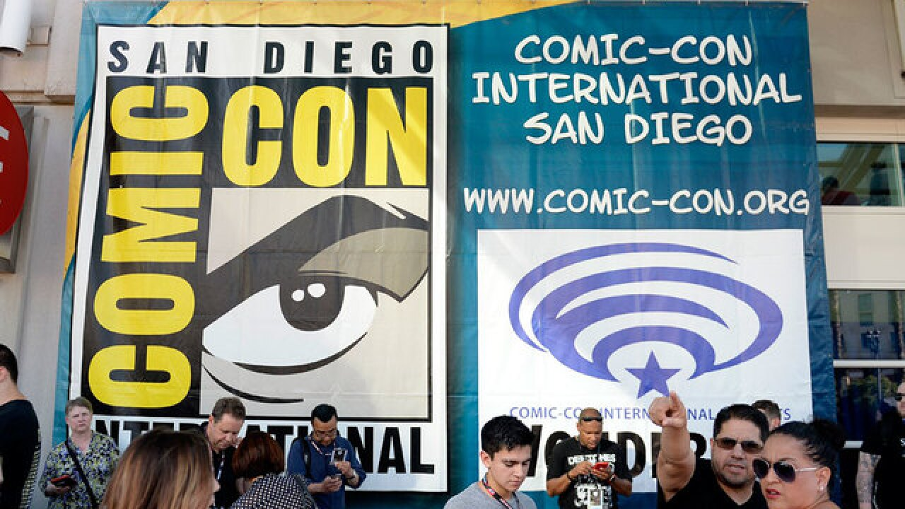 Part-time jobs available at Comic-Con 2018 in San Diego