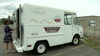 Bryant Bookmobile ready for the summer