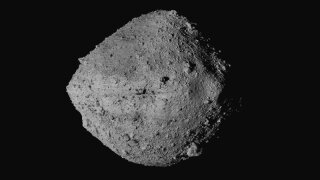 Touch-and-go: US spacecraft sampling asteroid for return