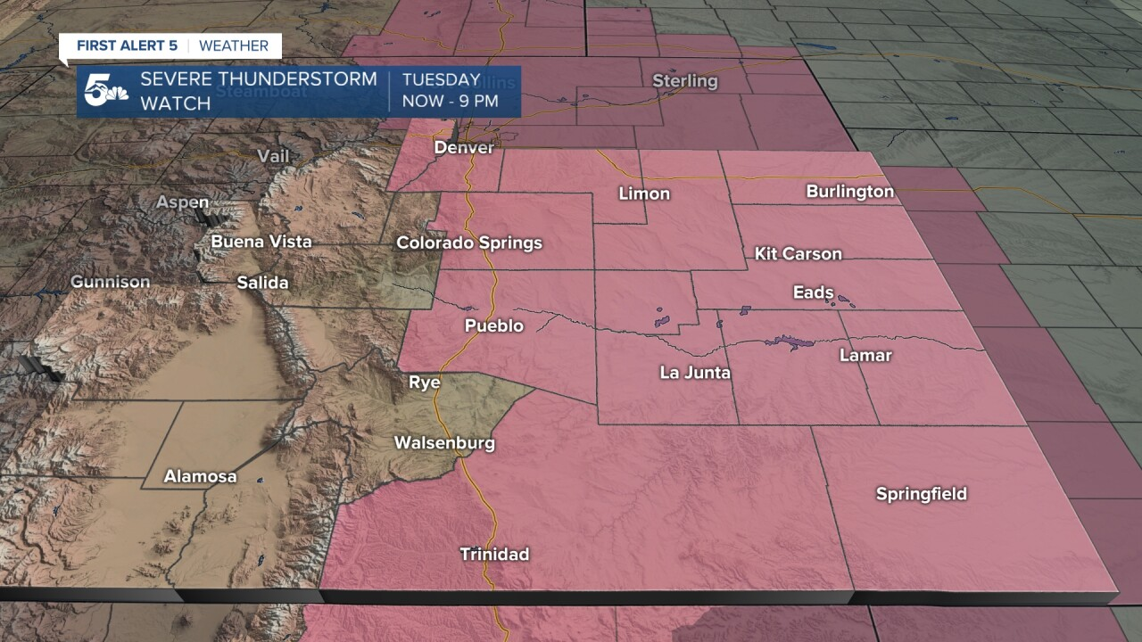 August 4, 2020 severe thunderstorm watch