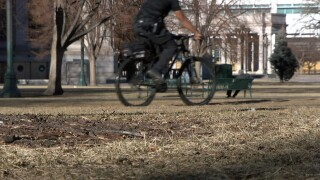Denver police officer reconnects to community through bike patrol