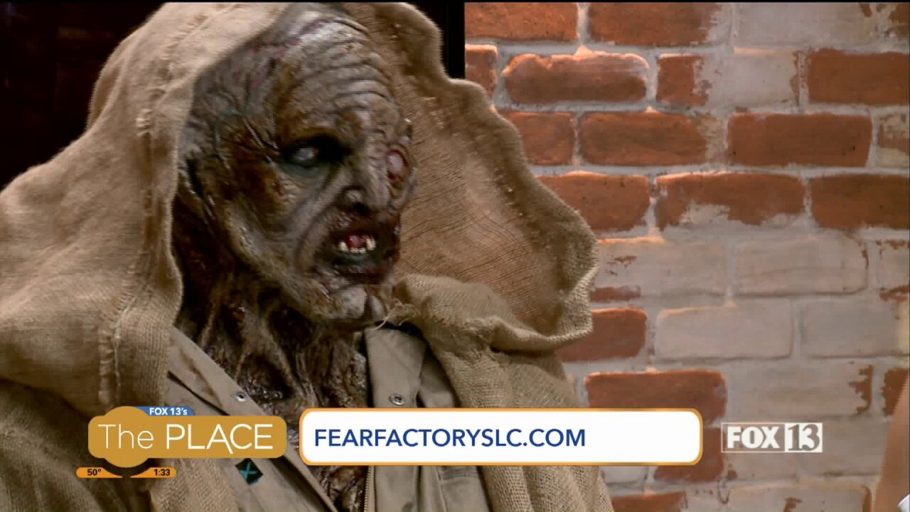 Behind-the-scenes of Fear FactoryMakeup