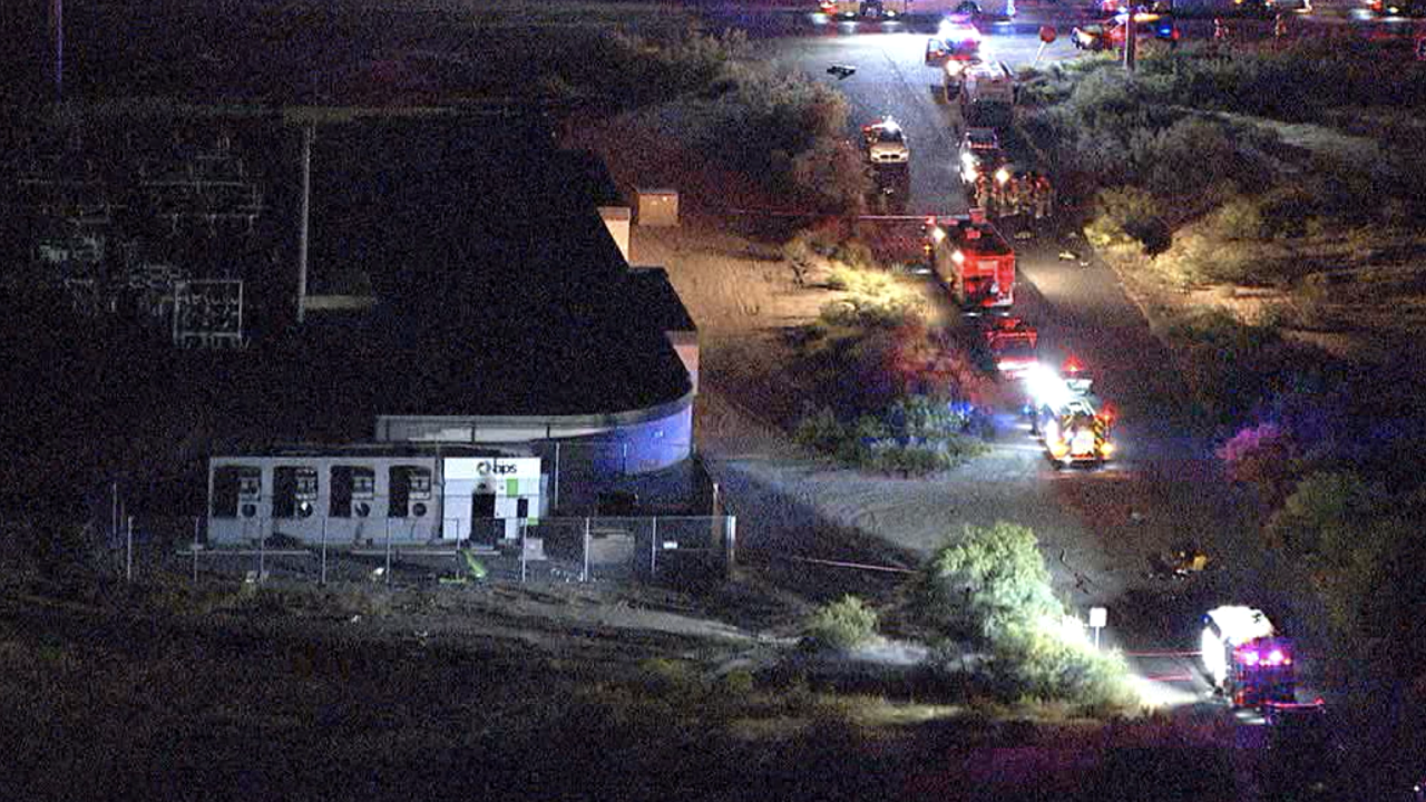 Firefighters injured in Surprise explosion