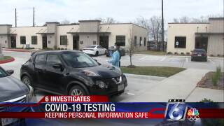 6 Investigates: Keeping your personal information safe during COVID-19 testing
