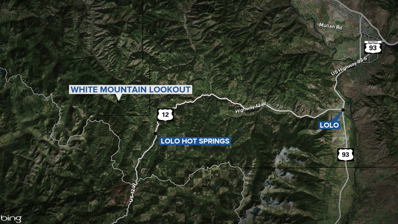 Missing Firefighter Found Map