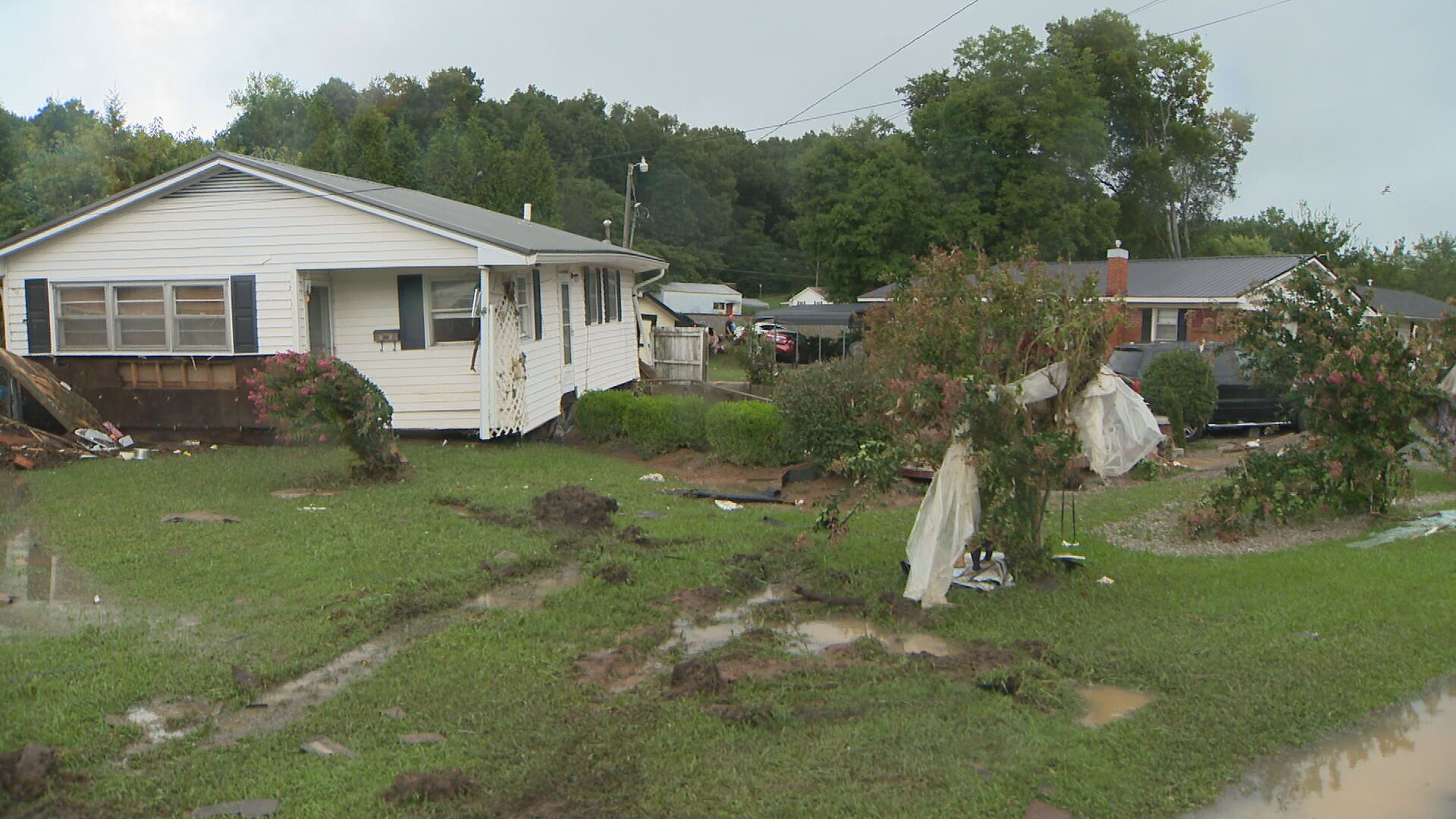 Waverly flood damage august 2021