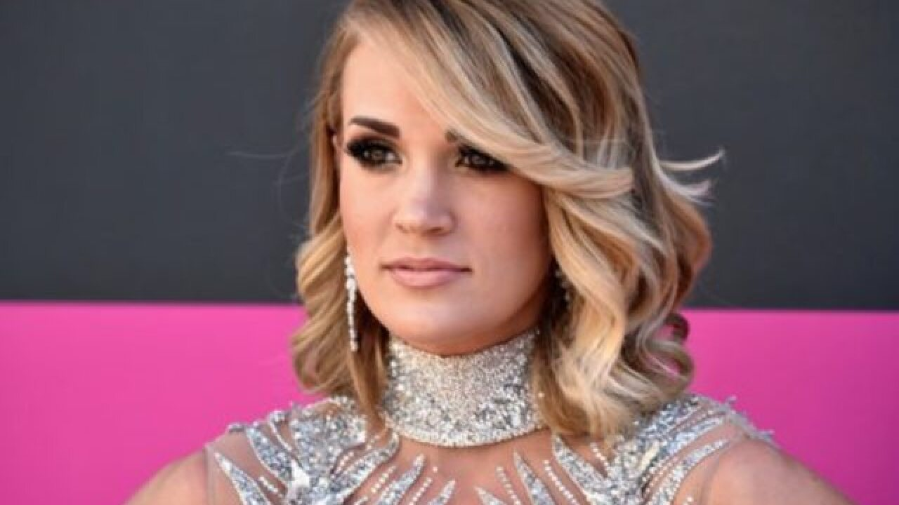 Carrie Underwood prepares for her first performance since nasty fall in Nashville