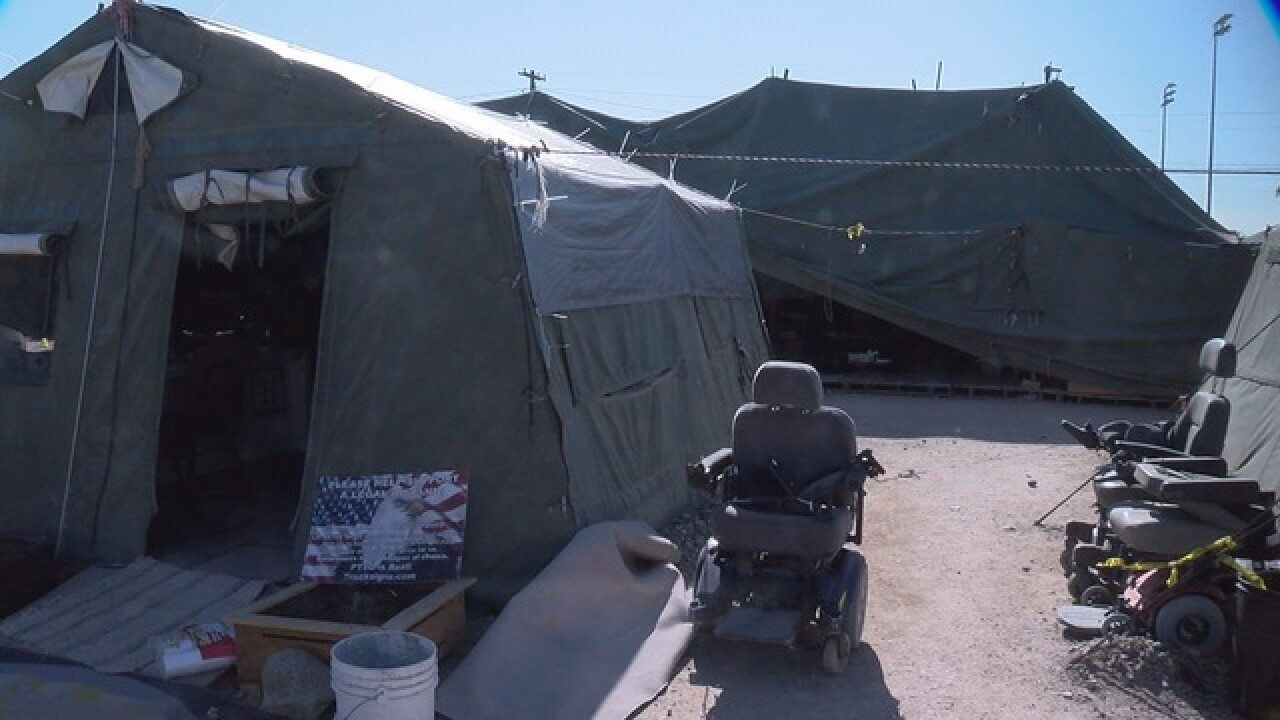 Homeless camp shutdown nearly complete