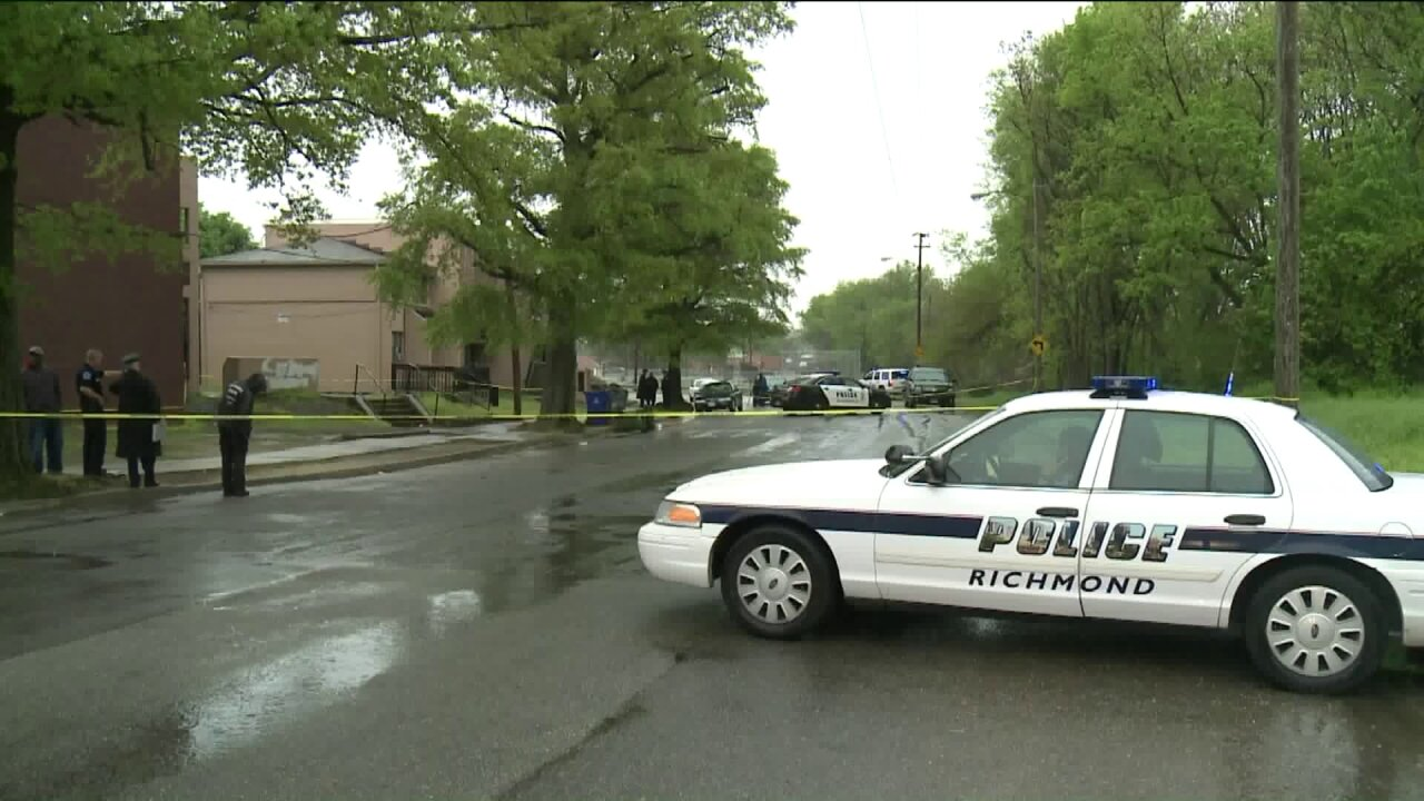 Four wounded when shots ring out in Richmond's GilpinCourt