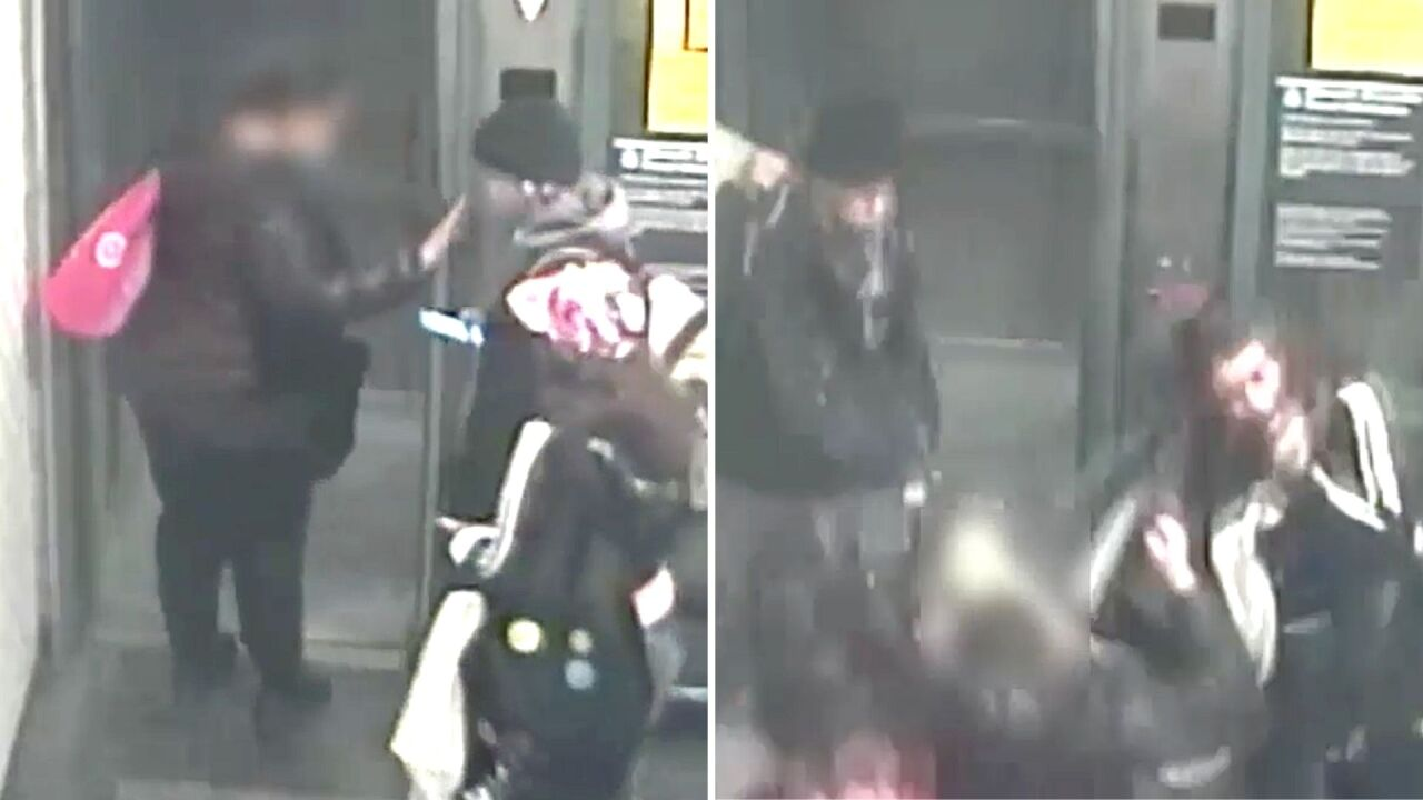 Woman attacked by two others after asking them to wear masks in New York subway station elevator